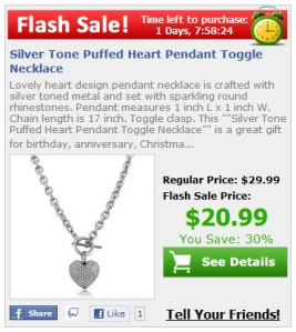 Flash Sale for Facebook Stores